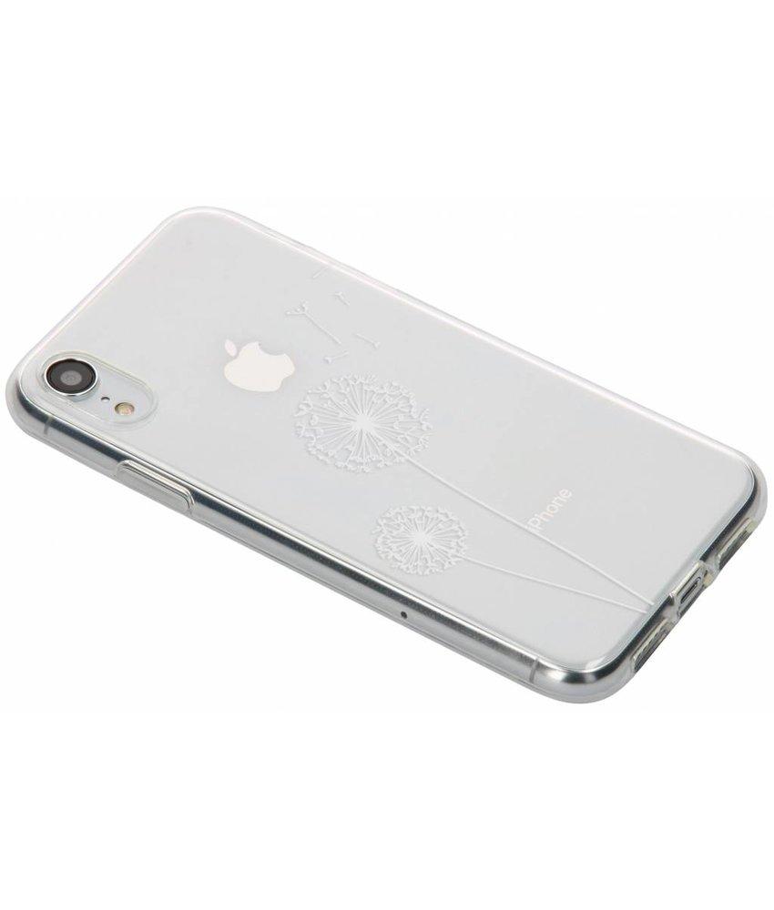 Transparant festival TPU hoesje iPhone Xr