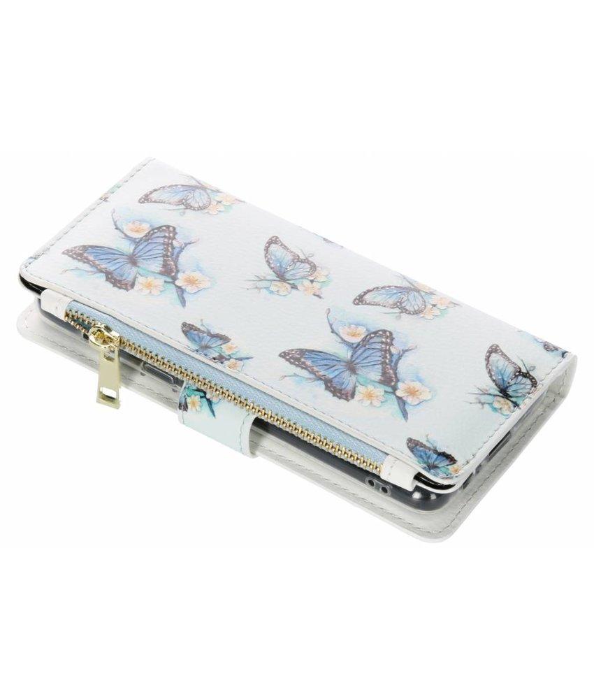 Design Luxe Portemonnee Samsung Galaxy A8 (2018)
