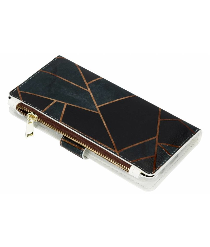 Design luxe portemonnee hoes Samsung Galaxy A6 (2018)