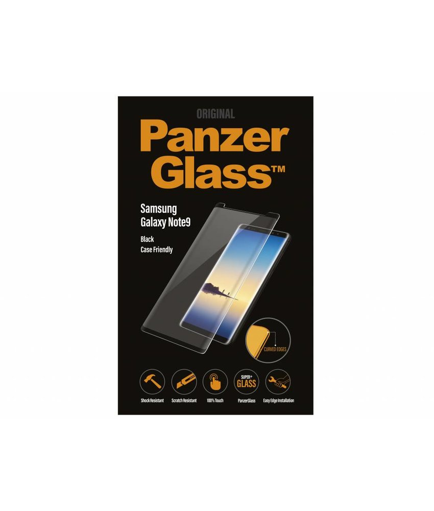 PanzerGlass Zwart Case Friendly Screenprotector Samsung Galaxy Note 9