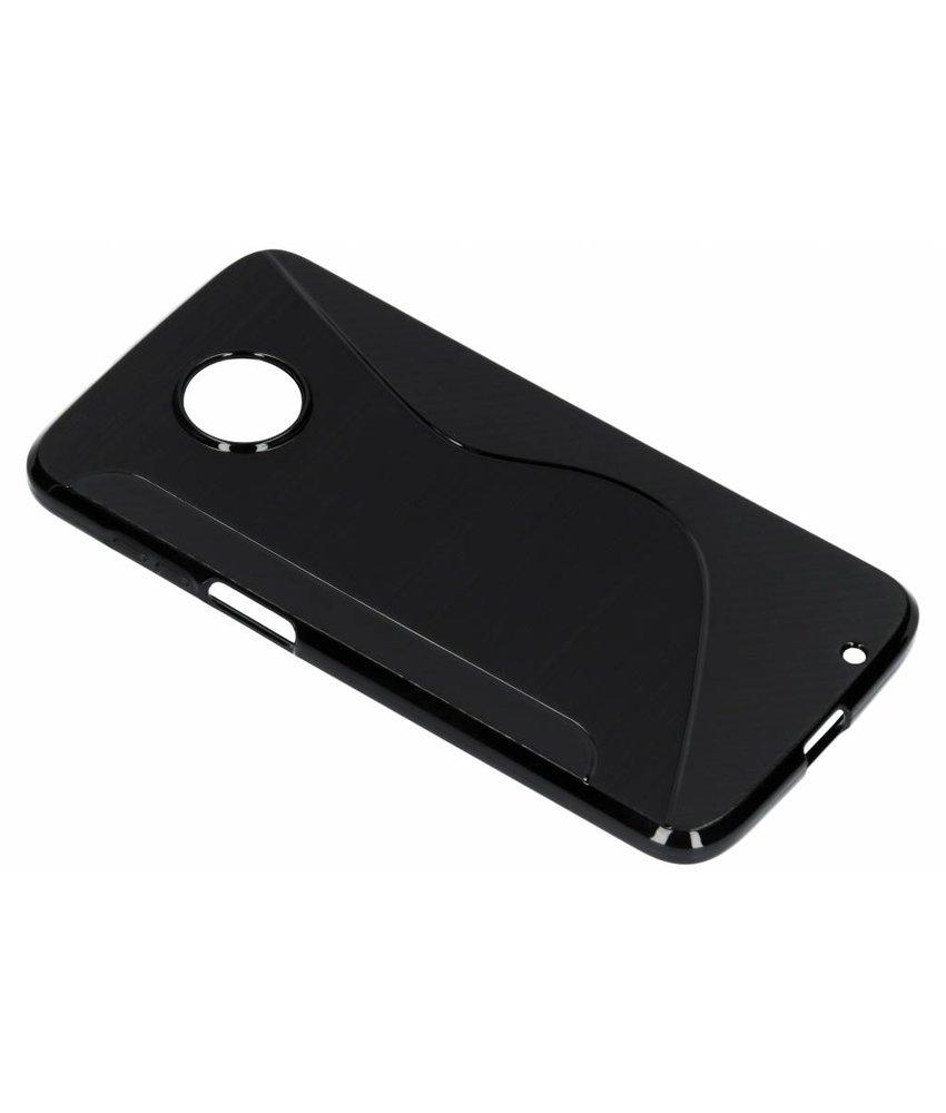 Zwart S-line TPU hoesje Motorola Moto Z3 Play