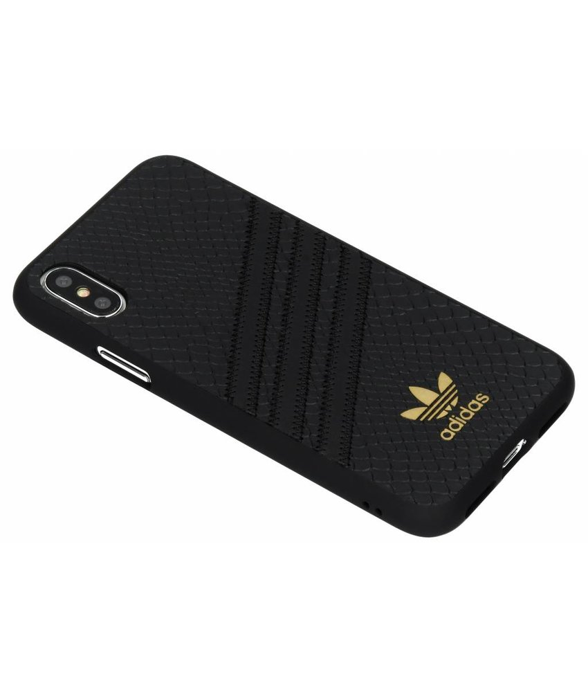 adidas Originals Zwart Moulded Snake Case iPhone Xs / X