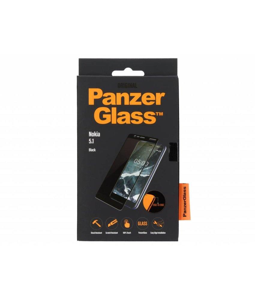PanzerGlass Zwart Premium Screenprotector Nokia 5.1