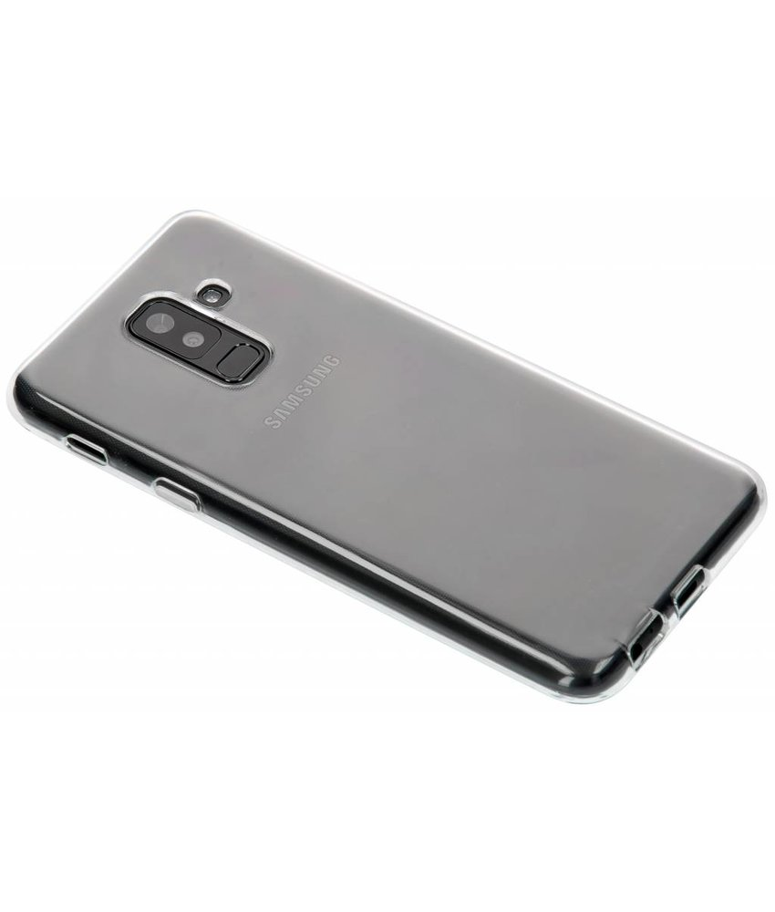 Transparant gel case Samsung Galaxy A6 Plus (2018)