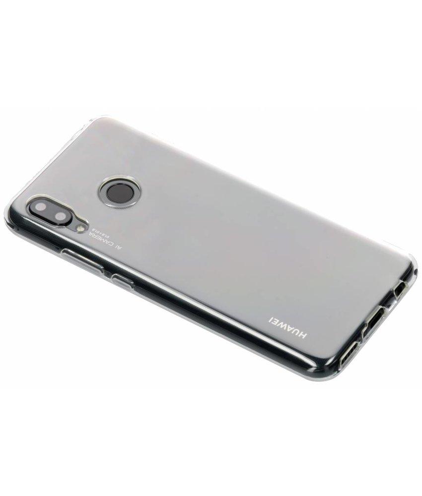 Transparant gel case Huawei Nova 3