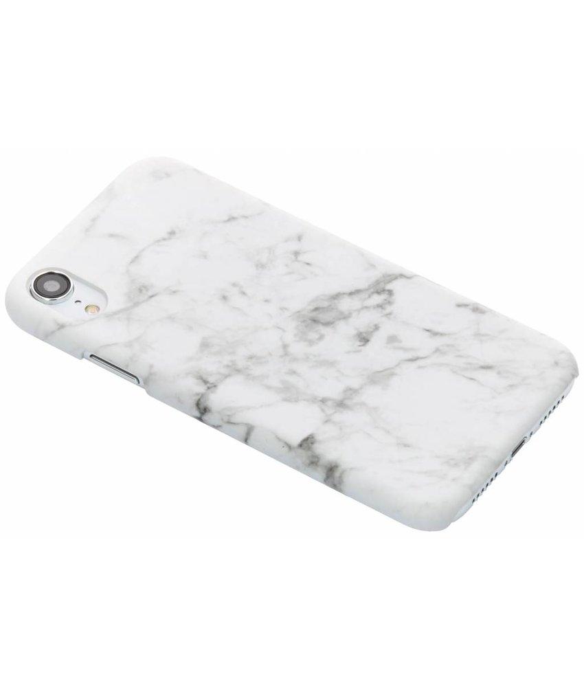 Wit marmer look hardcase hoesje iPhone Xr