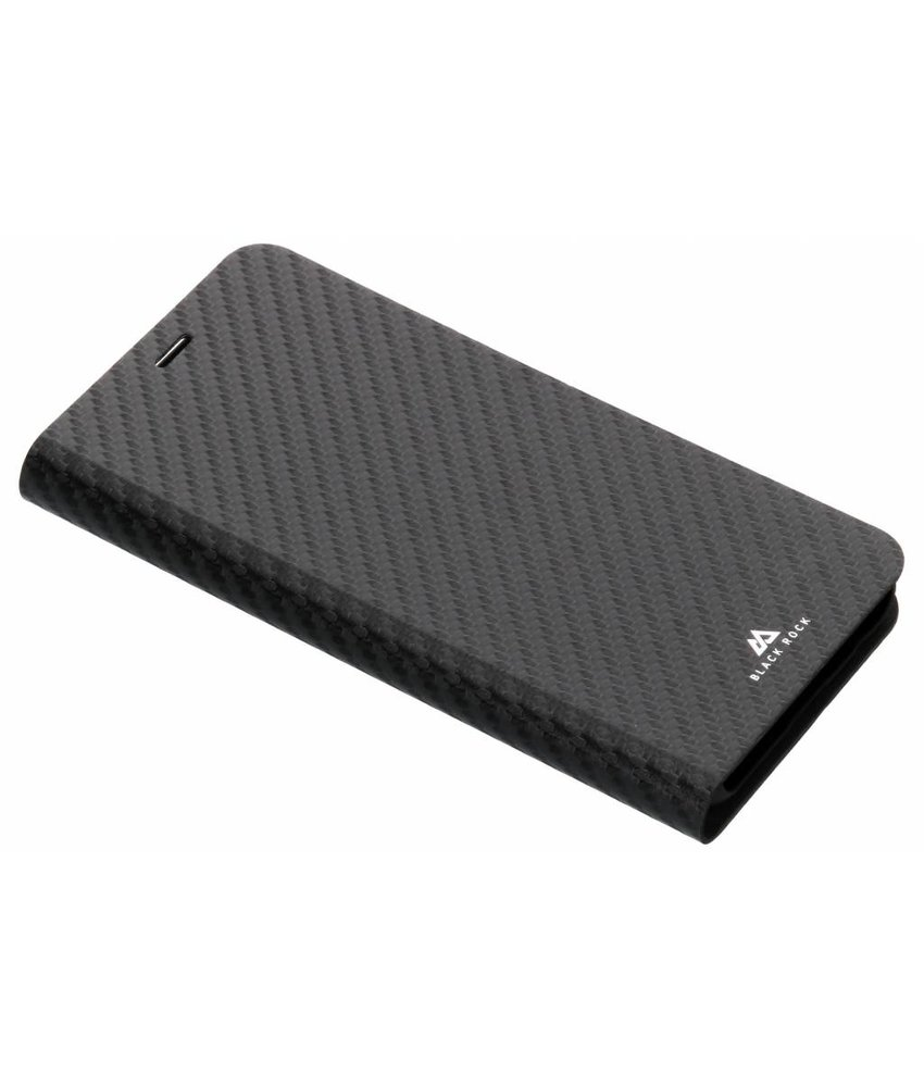 Black Rock Zwart Flex Carbon Booklet Case Samsung Galaxy J6