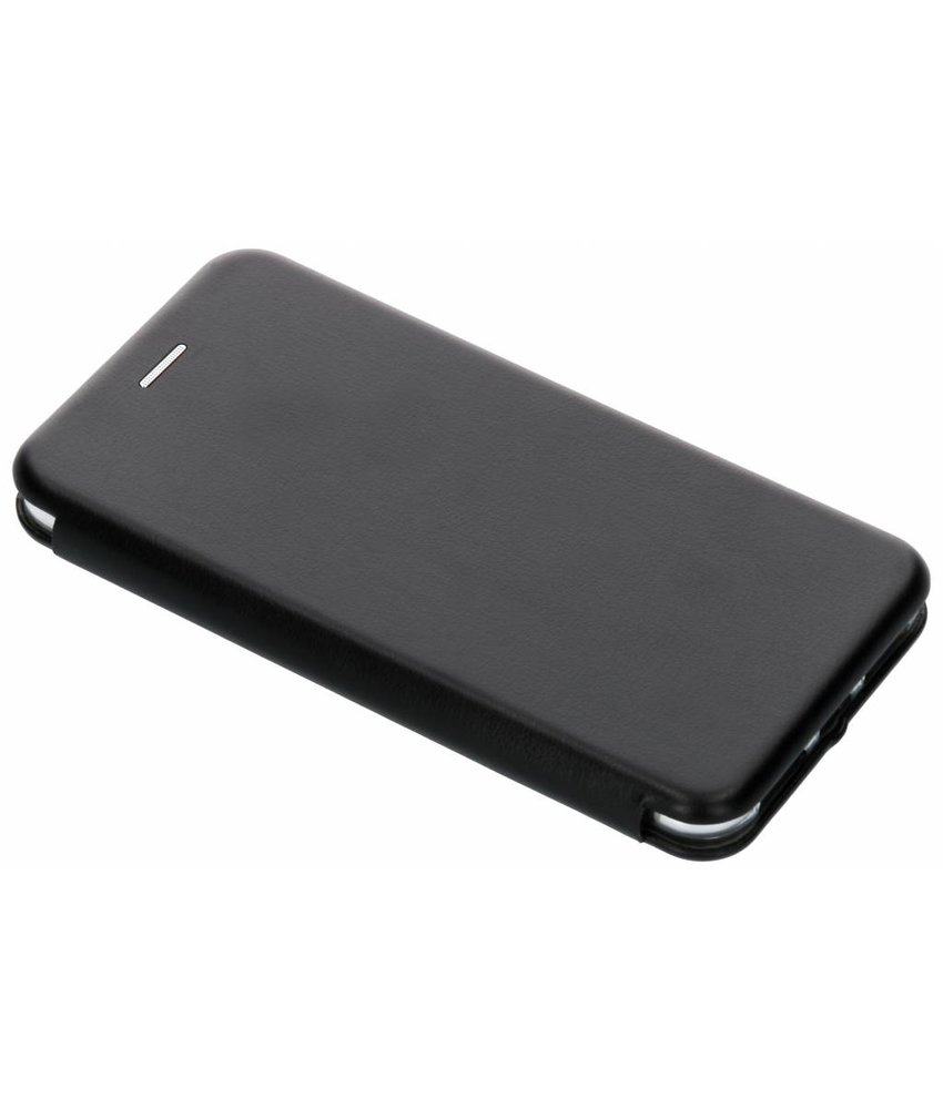 Zwart slim foliocase iPhone Xs Max