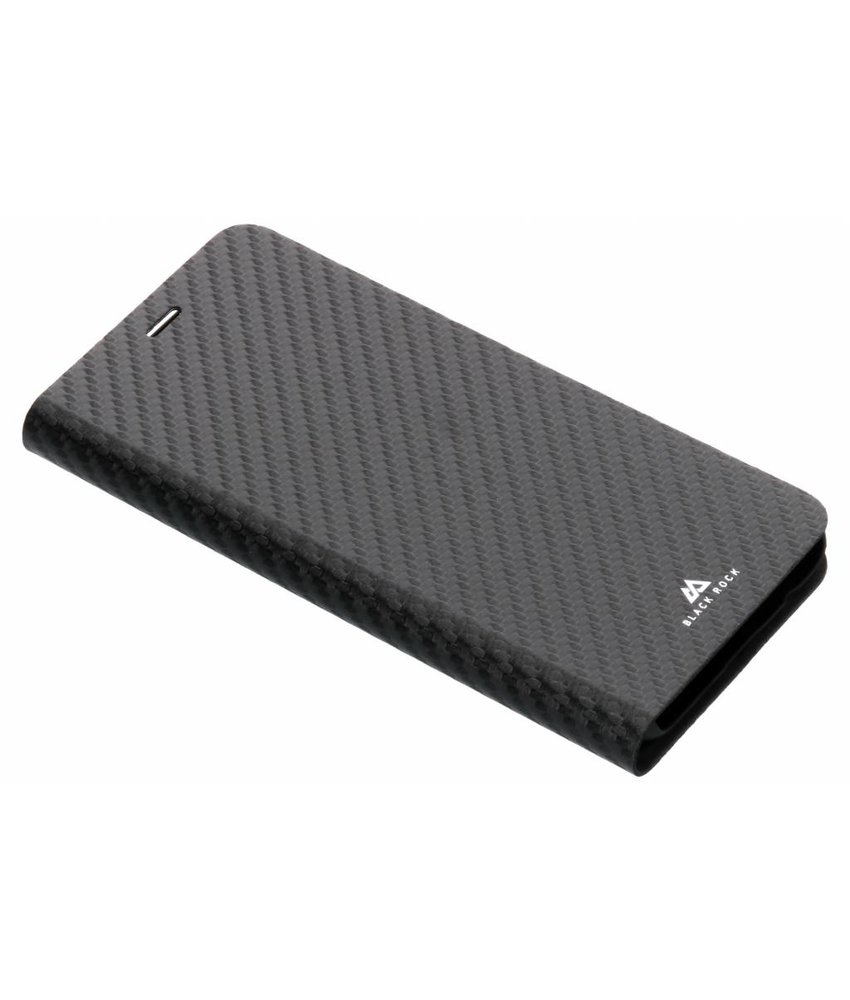 Black Rock Zwart Flex Carbon Booklet Case Samsung Galaxy A6 (2018)