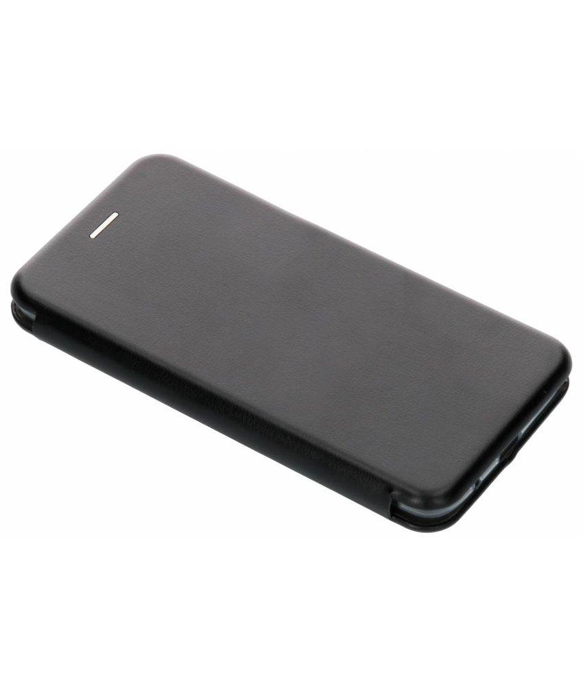 Zwart slim foliocase Motorola Moto E5 Plus
