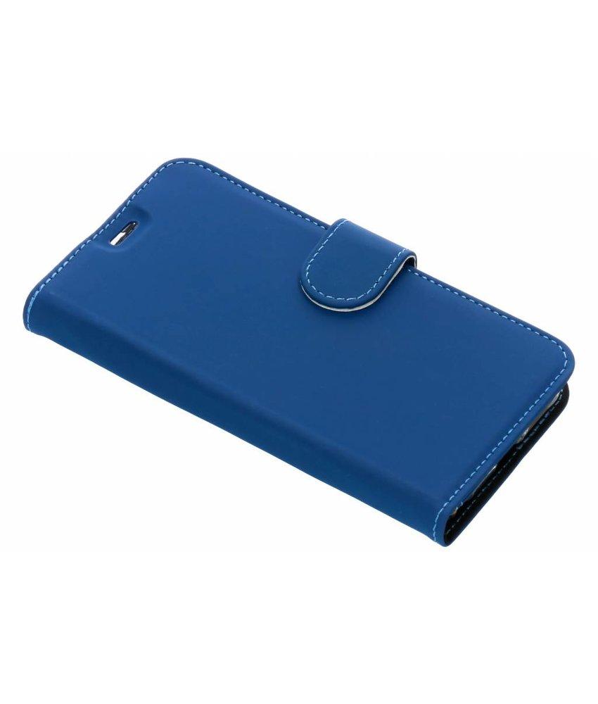 Accezz Blauw Wallet TPU Booklet LG Q7
