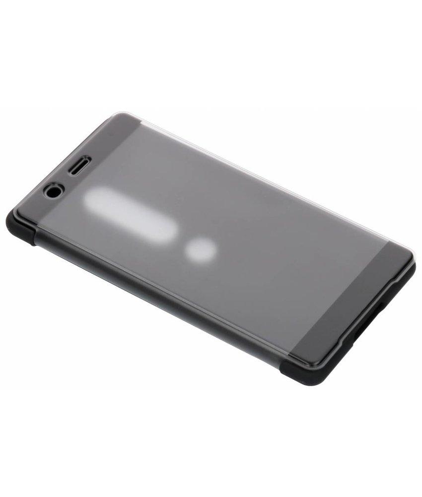 Sony Zwart Style Cover Touch Xperia XZ2 Premium