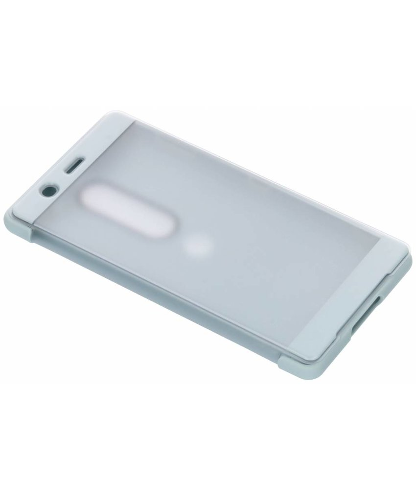 Sony Grijs Style Cover Touch Xperia XZ2 Premium