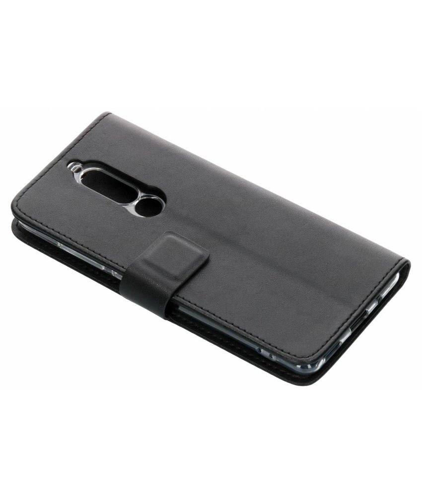 Azuri Zwart Book-style Wallet Case Nokia 5.1