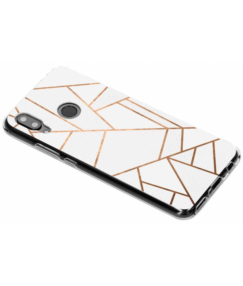 Design TPU hoesje Huawei Nova 3