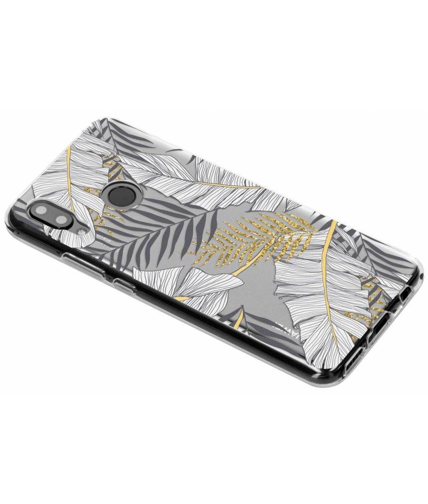Botanic design siliconen hoesje Huawei Nova 3