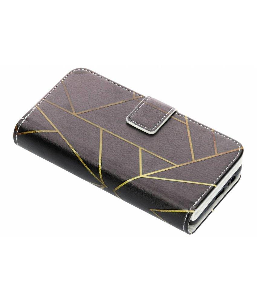 Design TPU portemonnee Samsung Galaxy A8 (2018)