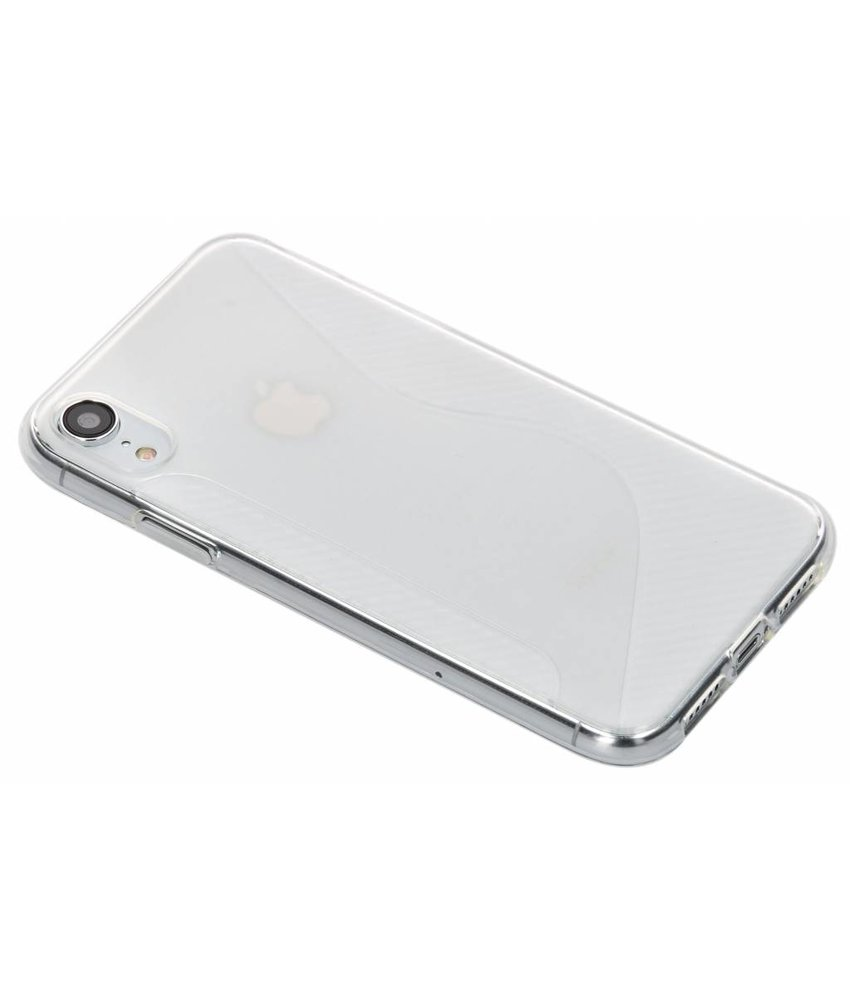 Transparant S-line TPU hoesje iPhone Xr