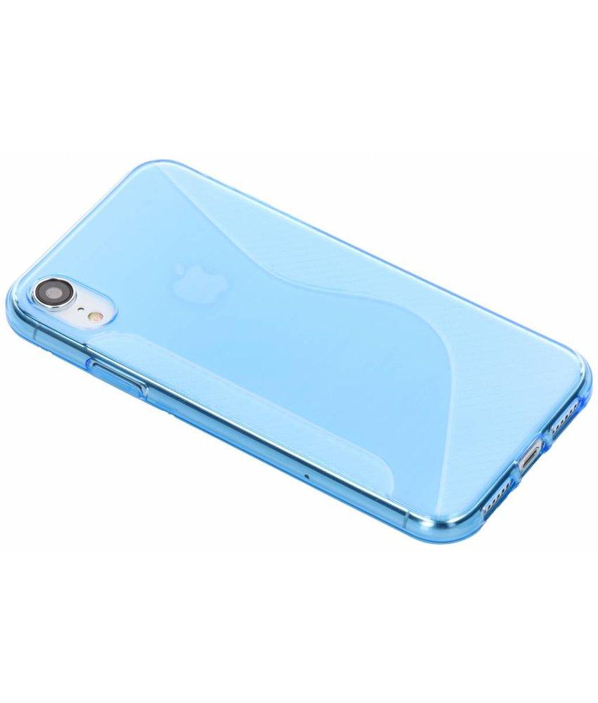 Blauw S-line TPU hoesje iPhone Xr