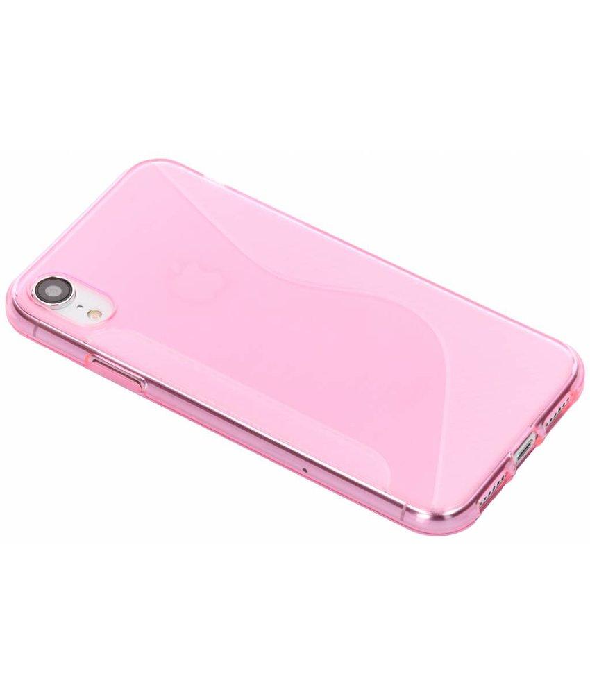 Roze S-line TPU hoesje iPhone Xr