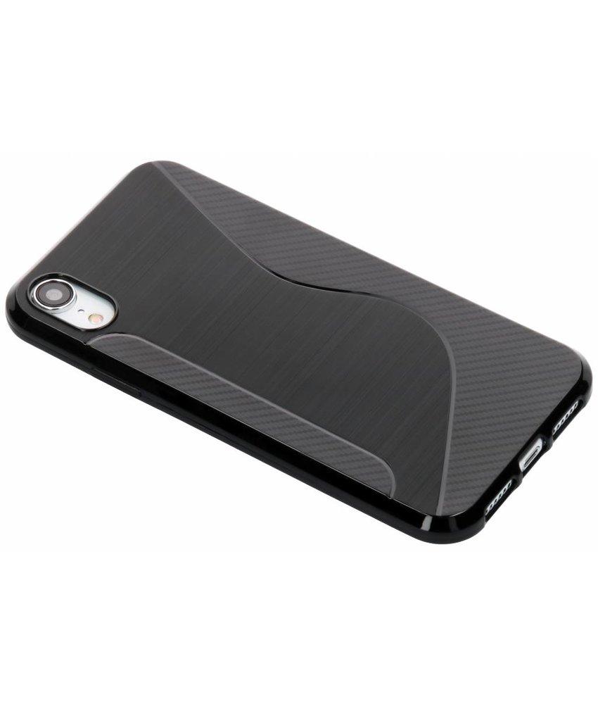 Zwart S-line TPU hoesje iPhone Xr
