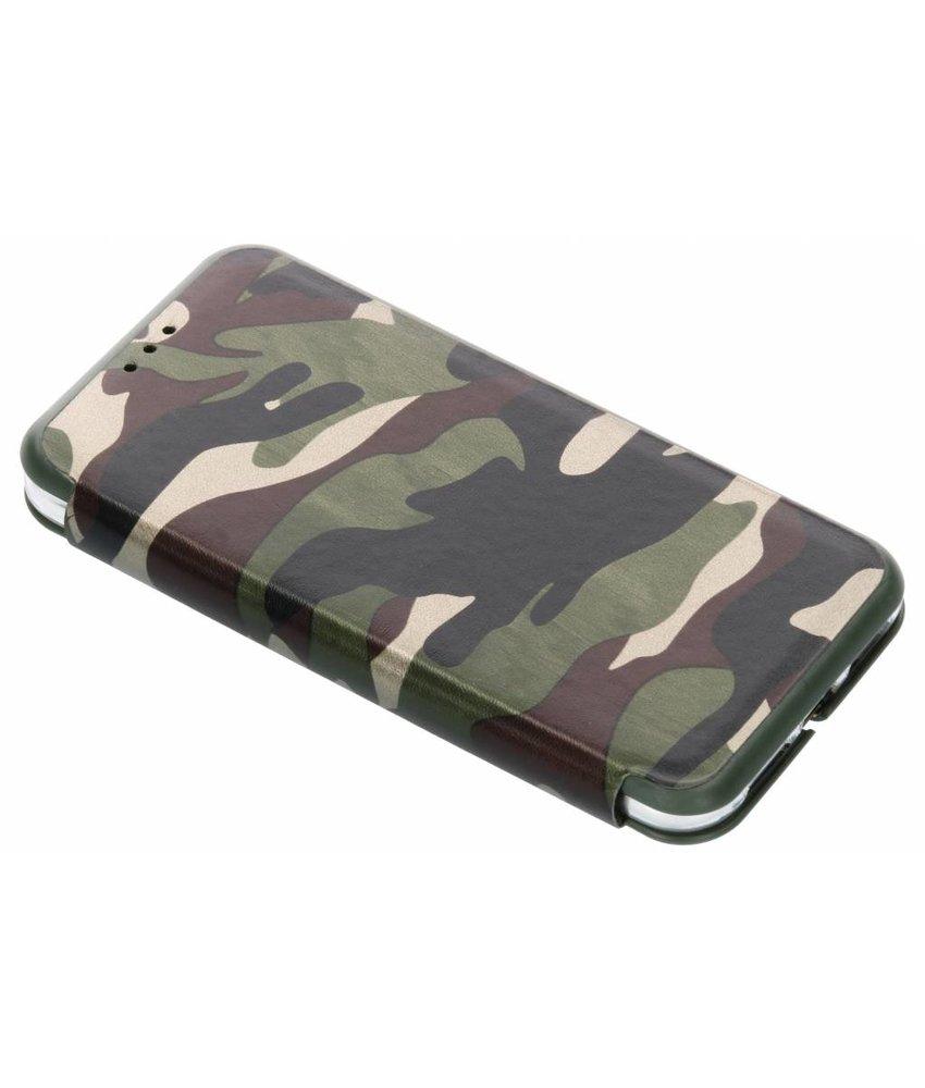 Groen Army Slim Folio Case iPhone Xr
