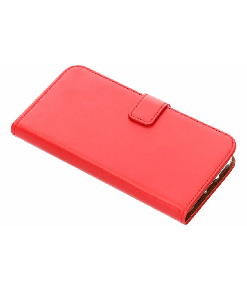 Selencia Rood Luxe TPU Book Case iPhone Xr