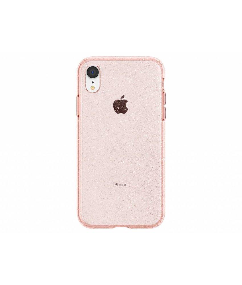Spigen Rosé Goud Liquid Crystal Glitter™ Case iPhone Xr