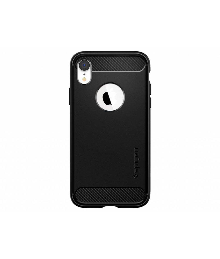 Spigen Zwart Rugged Armor™ Case iPhone Xr