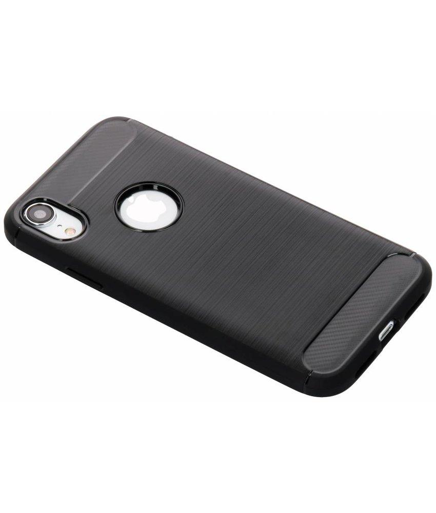 Zwart Brushed TPU case iPhone Xr