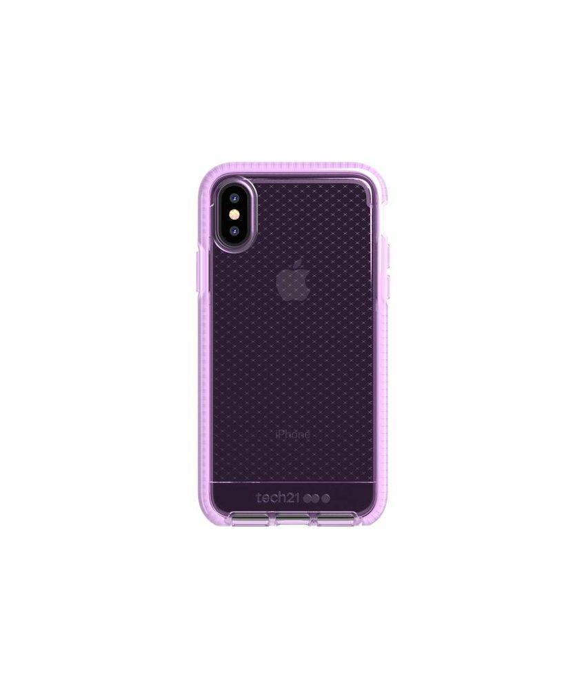 Tech21 Lila Evo Check Case iPhone Xs / X