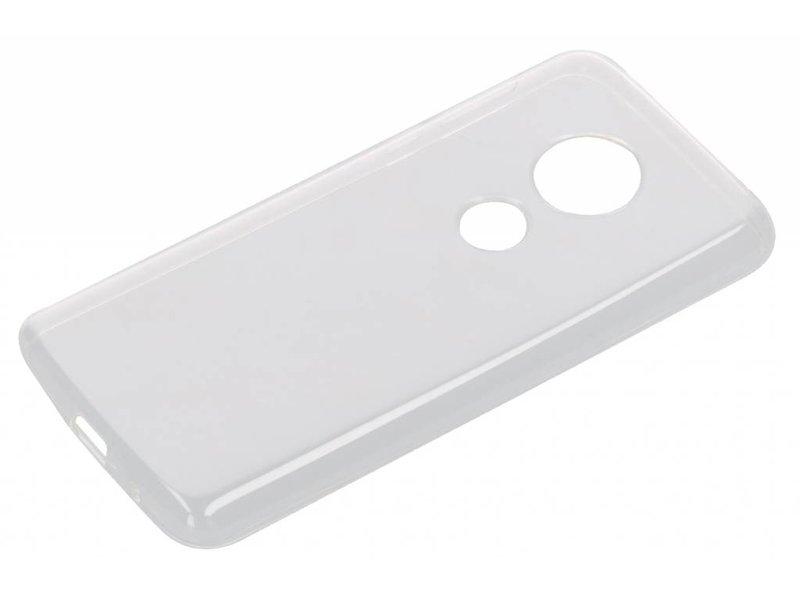 Transparante Back Cover voor de Moto E5 / G6 Play