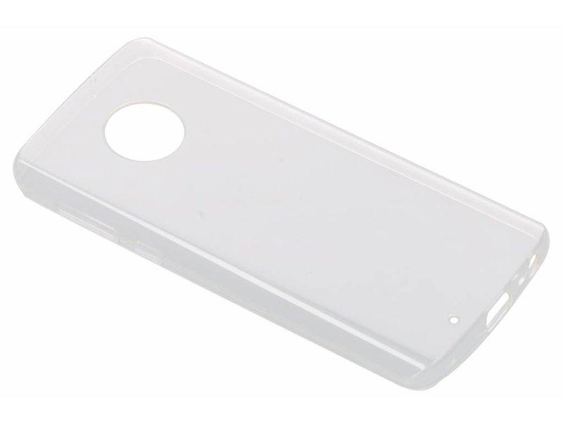 Motorola Moto G6 hoesje - Motorola Transparante Back Cover