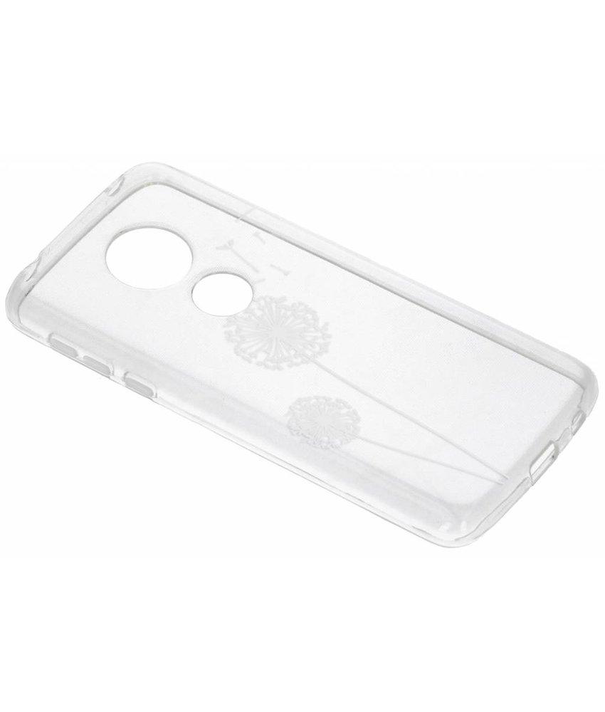 Transparant festival TPU hoesje Motorola Moto E5 / G6 Play