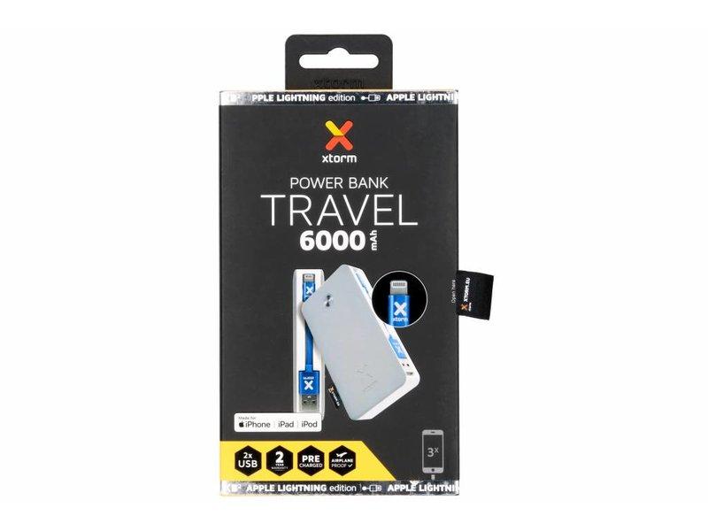 Xtorm Powerbank Travel - Lightning Edition - 6000 mAh