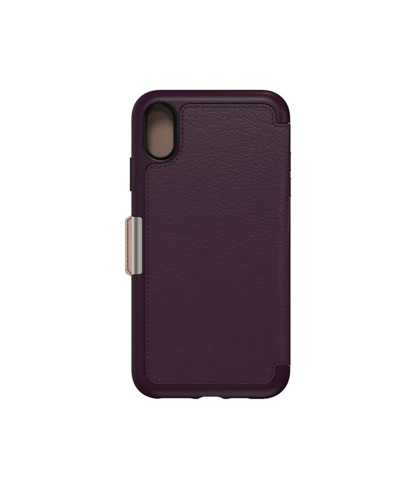 OtterBox Paars Strada Book Case iPhone Xs Max