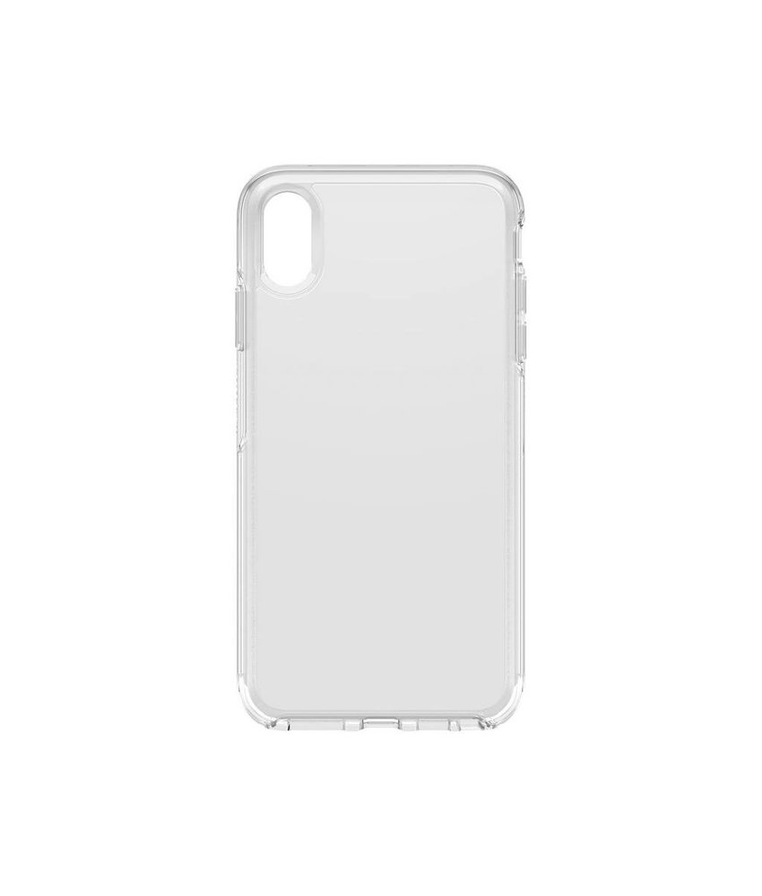 OtterBox Symmetry Clear Backcover iPhone Xs Max