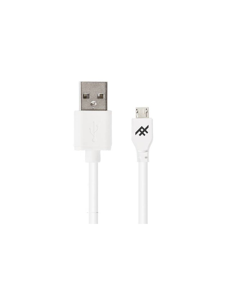 iFrogz Wit Unique Sync™ Micro-USB naar USB kabel - 1 meter