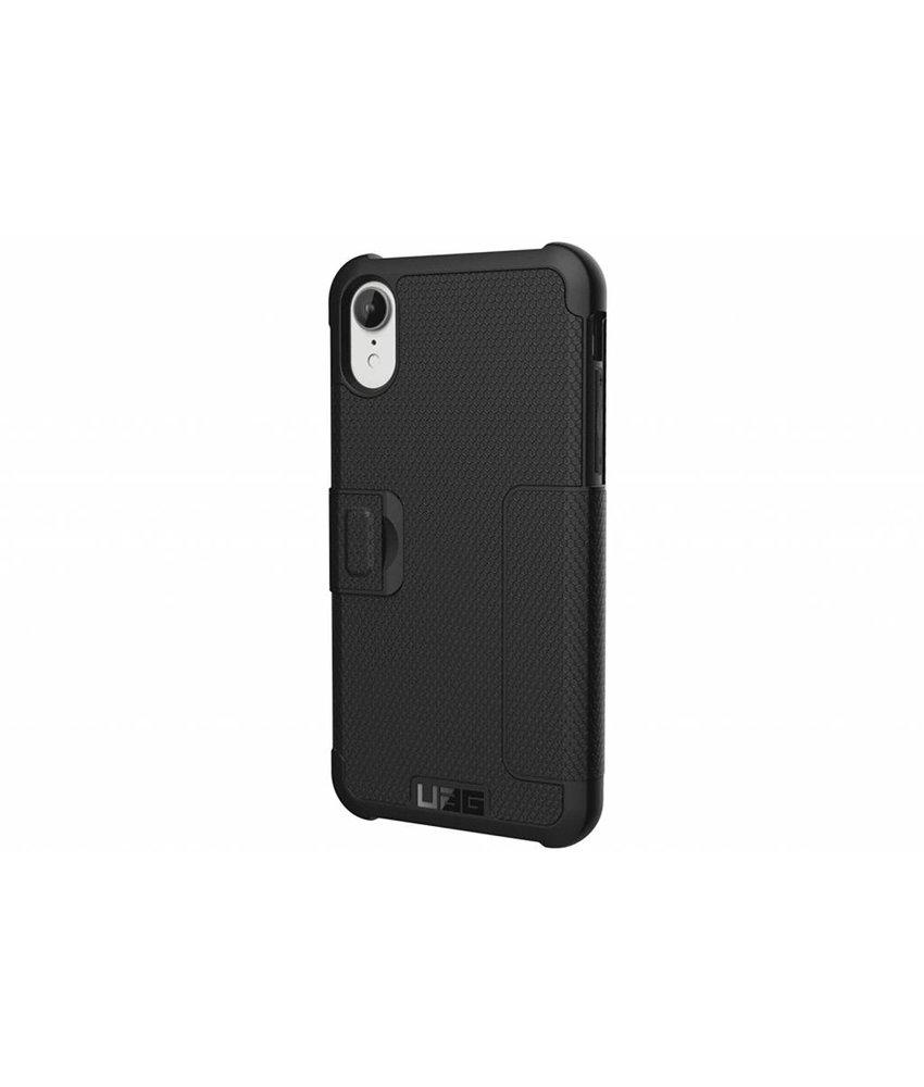 UAG Zwart Metropolis Folio Case iPhone Xr