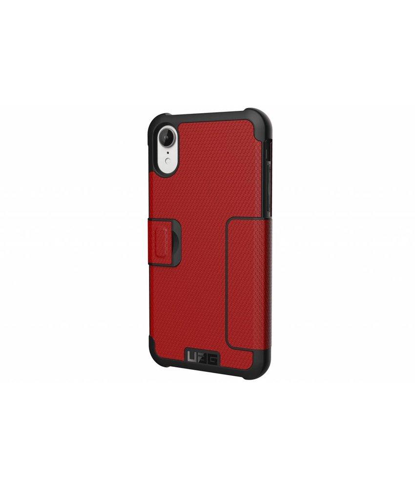 UAG Rood Metropolis Folio Case iPhone Xr