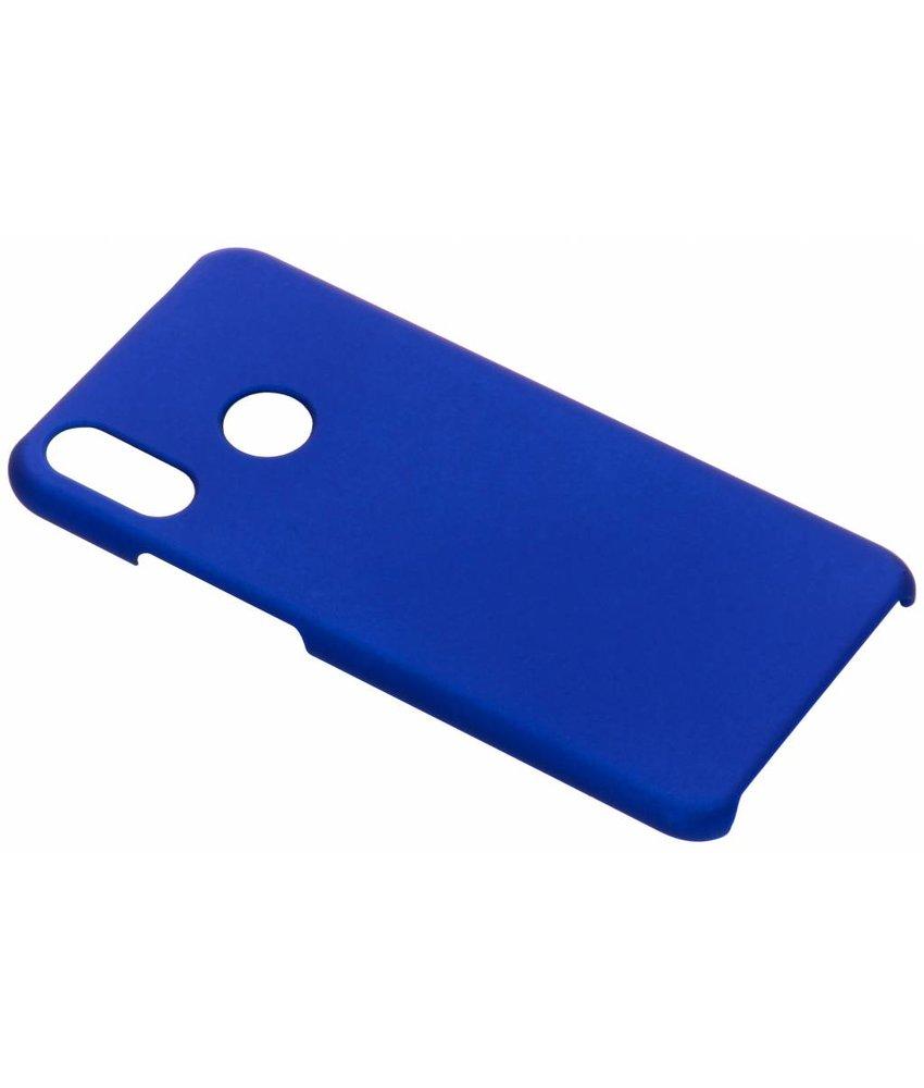Blauw effen hardcase hoesje Huawei P Smart Plus