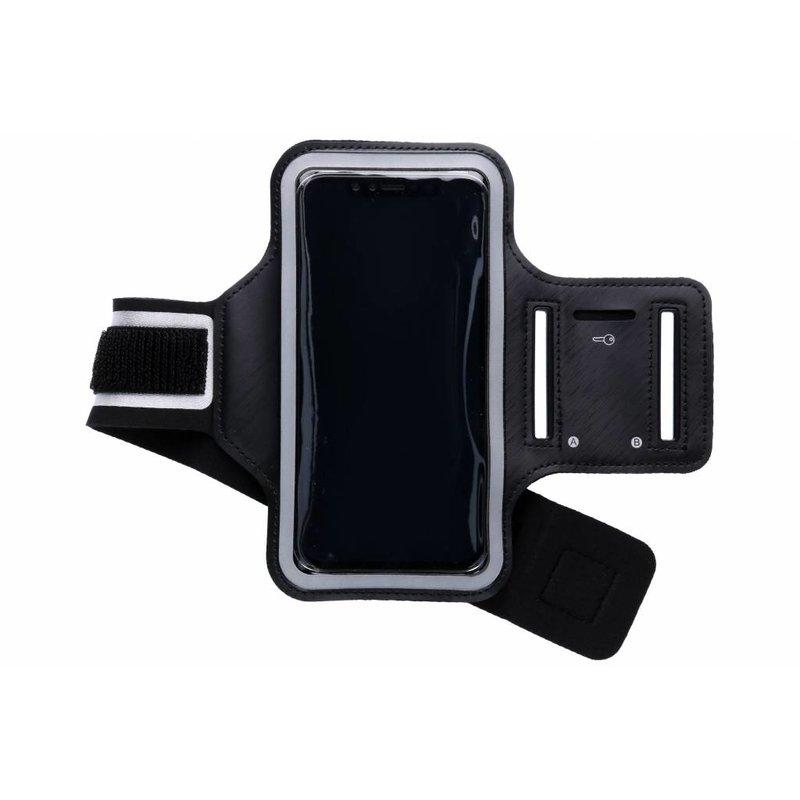 Zwart sportarmband iPhone Xr