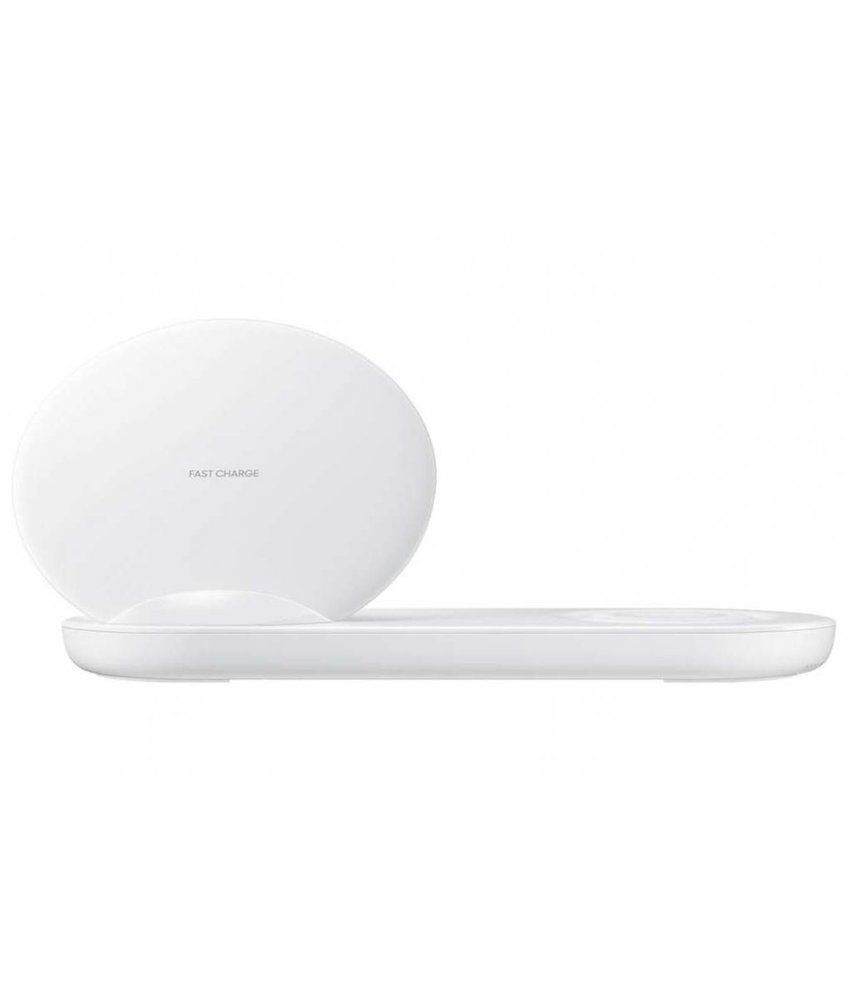 Samsung Wireless Charger Duo - Wit