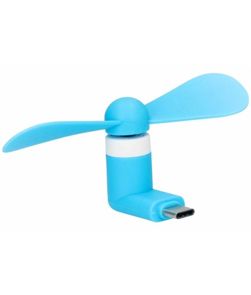 Blauw ventilator USB-C