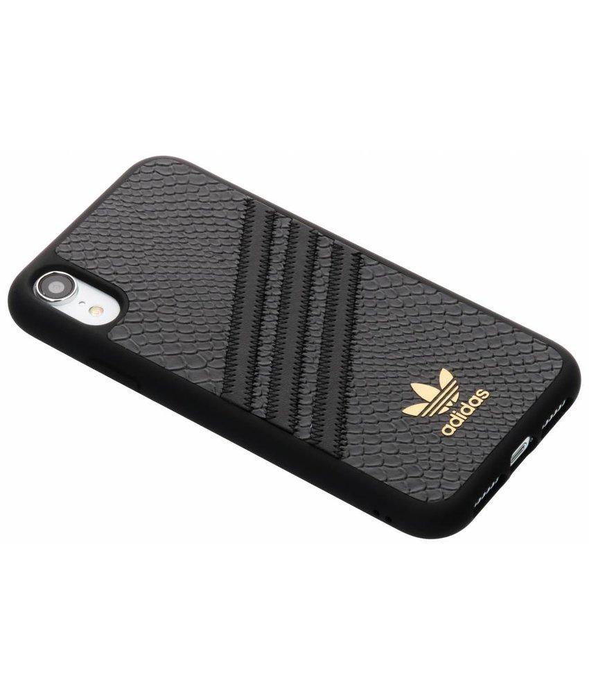 adidas Originals Zwart Moulded Snake Case iPhone Xr