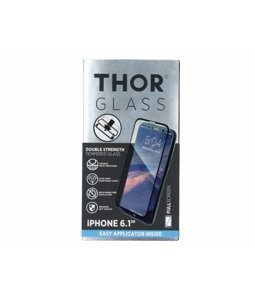 THOR Full Screenprotector + Easy Apply Frame iPhone Xr