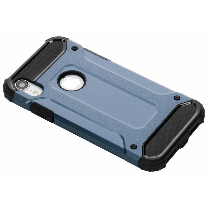 Donkerblauw Rugged Xtreme Case iPhone Xr