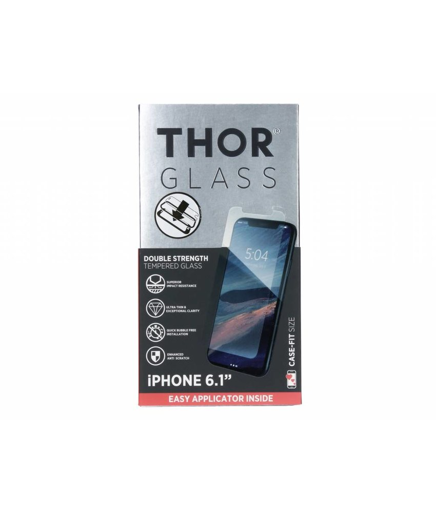 THOR Case-Fit Screenprotector + Easy Apply Frame iPhone Xr