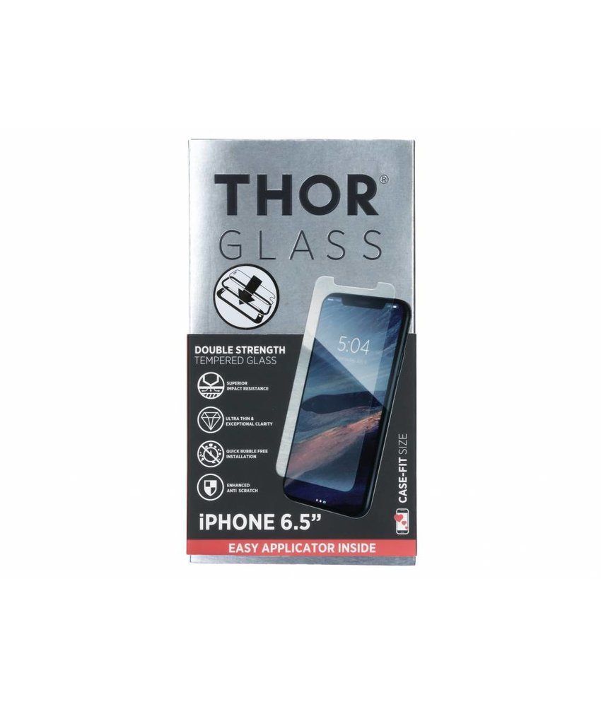 THOR Case-Fit Screenprotector + Easy Apply Frame iPhone Xs Max