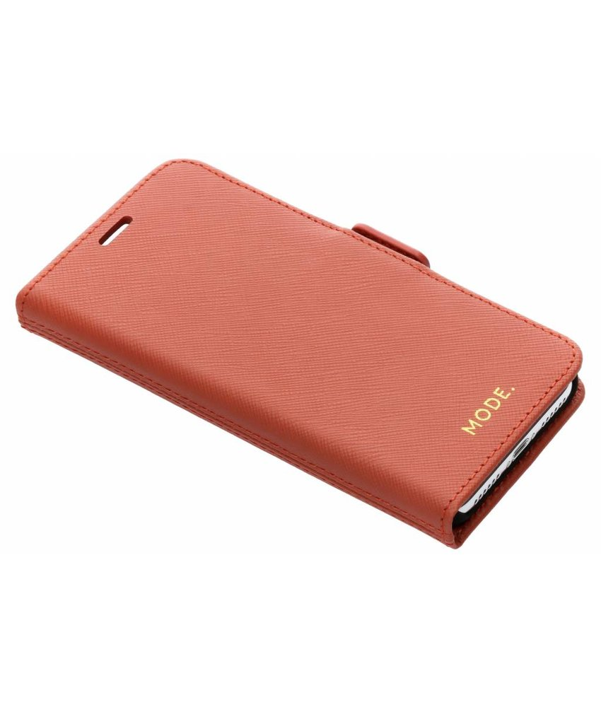 dbramante1928 Koperkleurig Milano Leather Wallet Case iPhone X